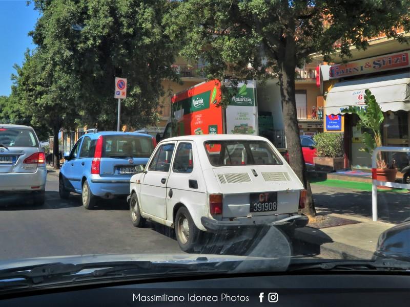 avvistamenti auto storiche - Pagina 29 Fiat-126-600-22cv-76-CT391908