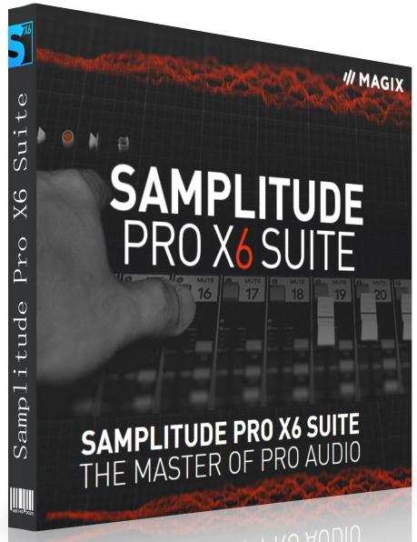 MAGIX Samplitude Pro X6 Suite 17.1.0.21418 + Rus