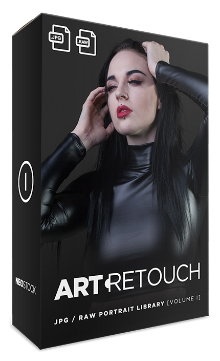art portrait raw volume 1 photo stock library bundle neostock