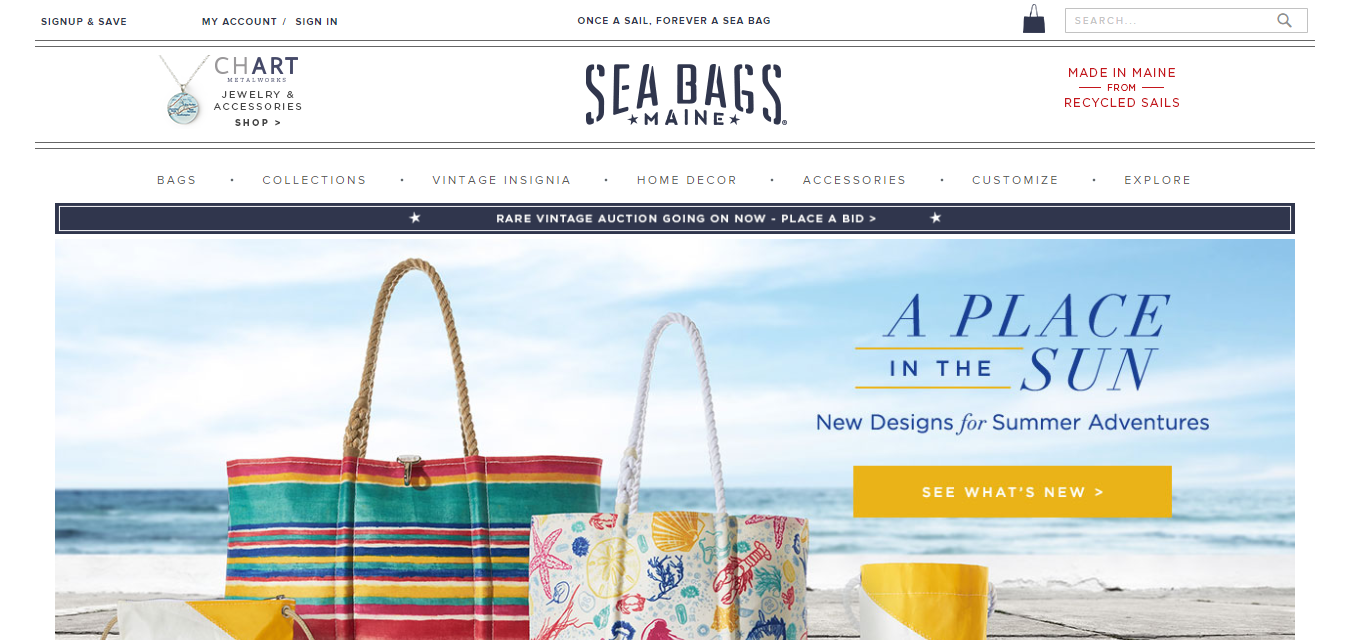 The Sea Bags travel product recommended by Kristan Vermeulen on Pretty Progressive.