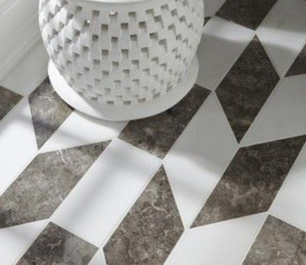 desain lantai granit Parallelogram Granite Design