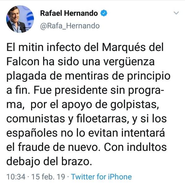 """Rafael Hernando (PP): """"Algunos se han acordado de su padre enterrado sólo cuando había subvenciones""""  - Página 4 Xjsd9"""