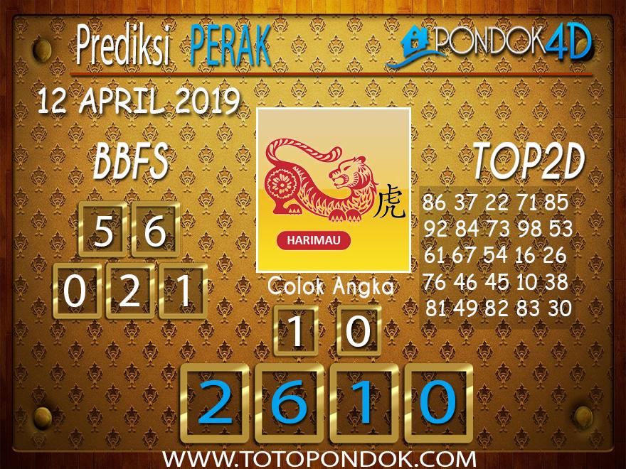 Prediksi Togel PERAK PONDOK4D 12 APRIL 2019