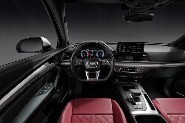 Sportivité, puissance et efficience : Audi présente la nouvelle génération de la SQ5 TDI A208363-medium