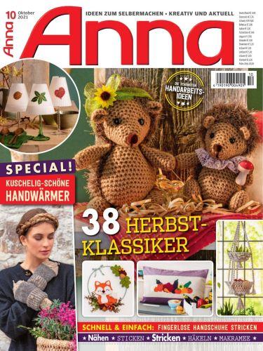 Cover: Anna Ideen zum Selbermachen Magazin No 10 Oktober 2021