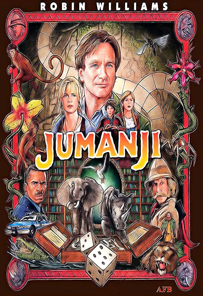 Jumanji 1995 Dual Audio Hindi 350MB BluRay ESubs Download