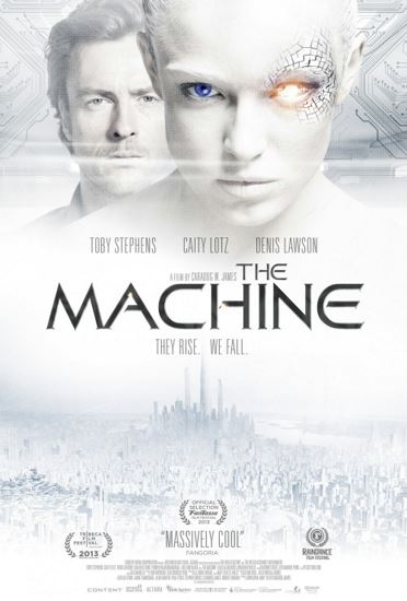 Maszyna / The Machine (2013) PL.BRRip.XviD-GR4PE | Lektor PL