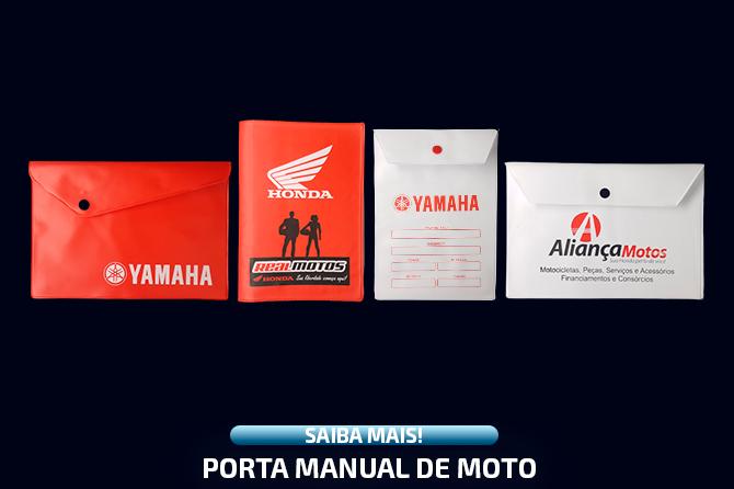 Porta Manual de Moto