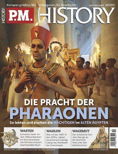 Cover: P M  History Magazin für Geschichte No 10 Oktober 2021