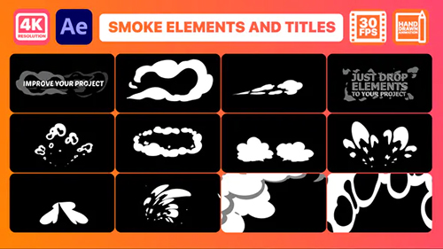 Smoke Pack And Titles | After Effects 32736744 - Project & Script (Videohive)