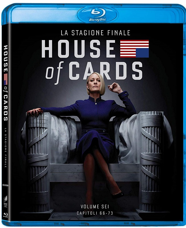 House Of Cards Stg.6 (2018) 3 Full Bluray AVC DTS HD MA DDN