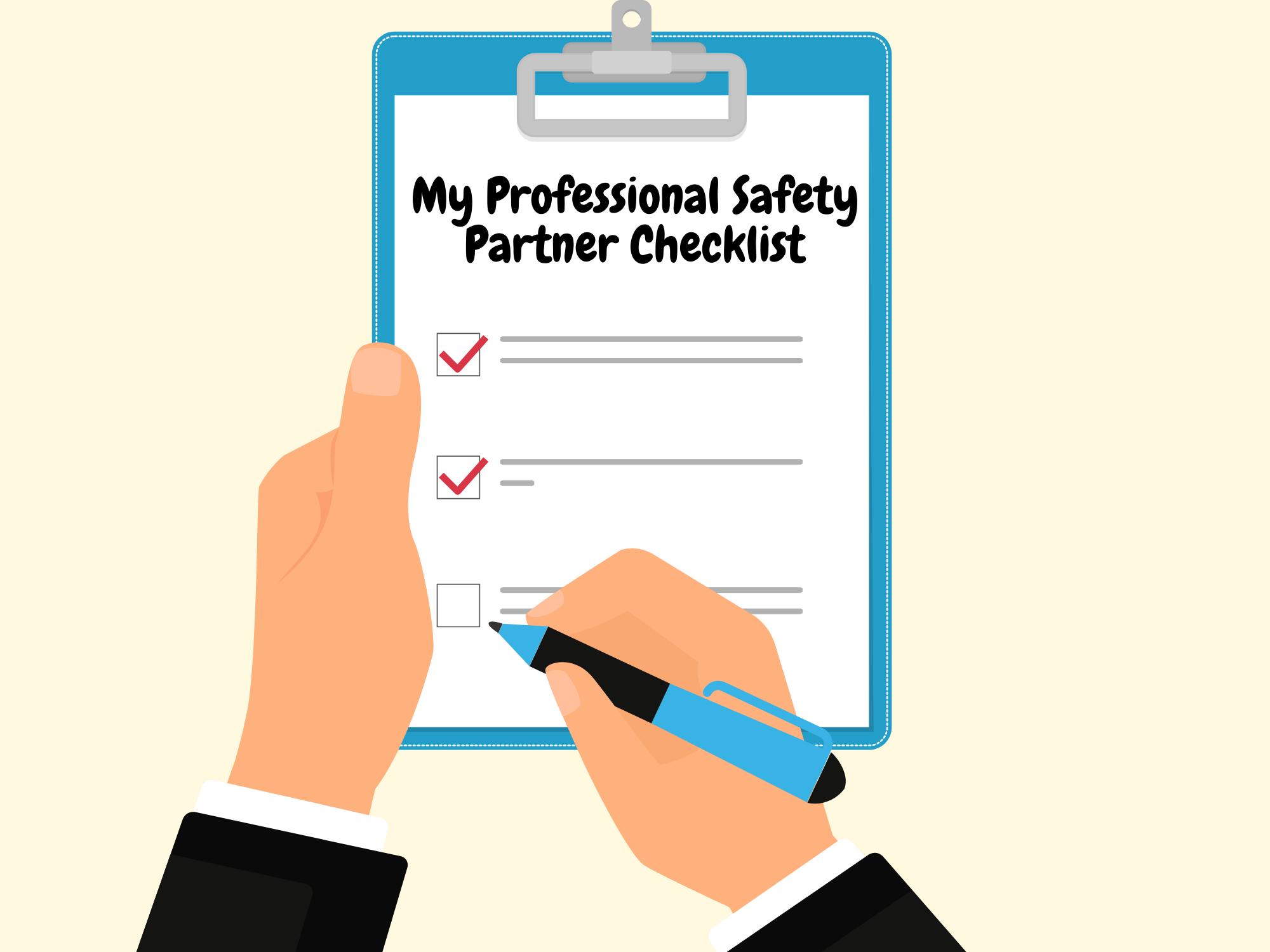 My-Professional-Safety-Partner-Checklist