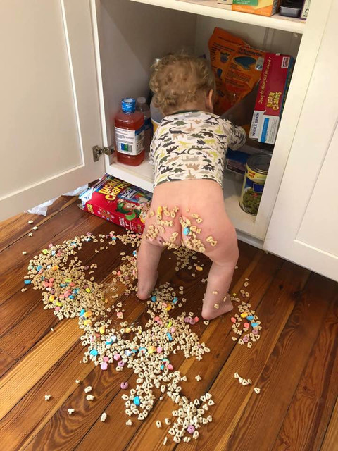 Lucky Charms 5 second rule
