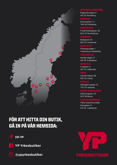 YP karta bild