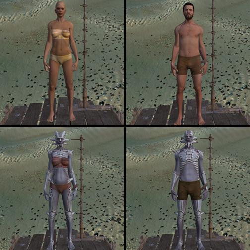Weathered Underwear