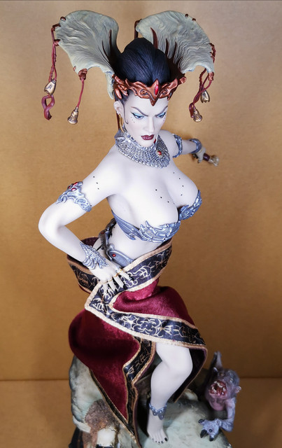 sideshow - NEW PRODUCT: Tbleague x SIDESHOW New: 1/6 Court of the Dead: Gethsemoni The Dead Queen action figure (PL2019-147) 37