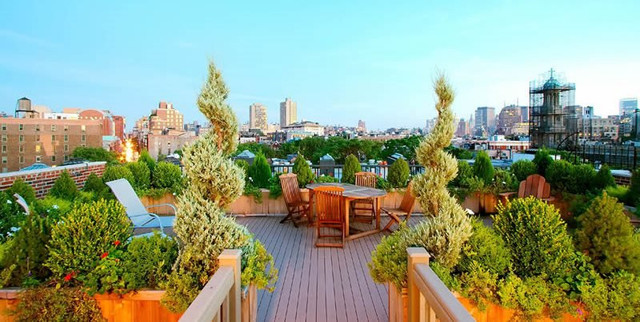 7 Rooftop Garden Designs That Make Your Home Cooler