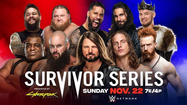 Lucha Tradicional Survivor Series Masculino