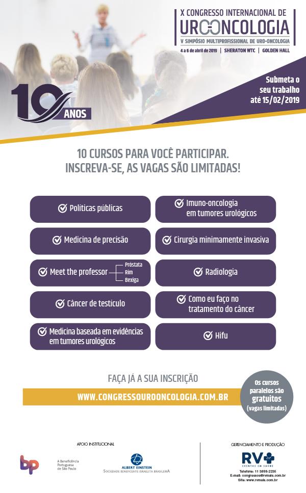 X Congresso Urooncologia
