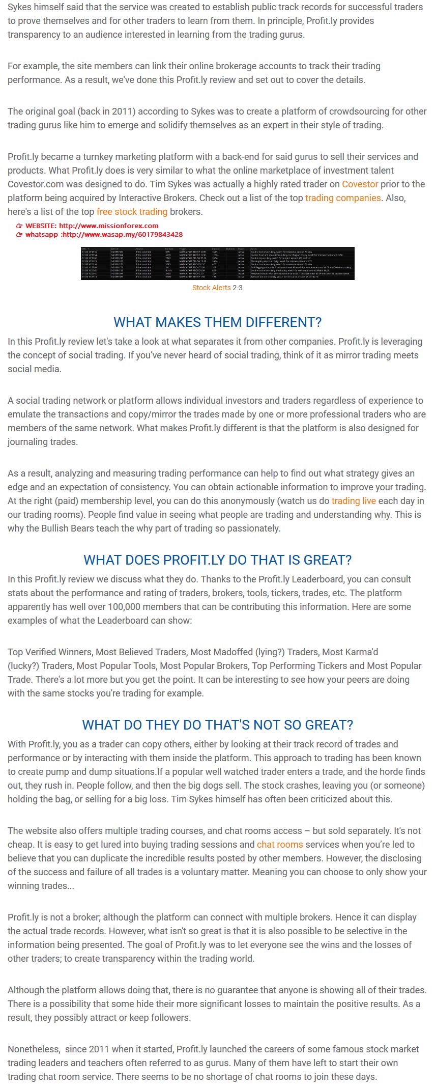 Tlm Sykes - Profit.ly weekly Guru Trader Series (SEE 1 MORE Unbelievable BONUS INSIDE!!)