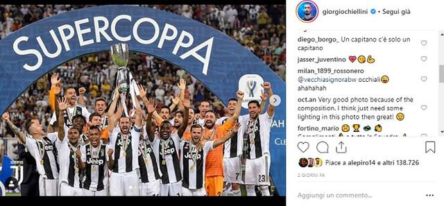Chi è Giorgio Chiellini? Vita privata, carriera, Laurea e Instagram del capitano della Juventus