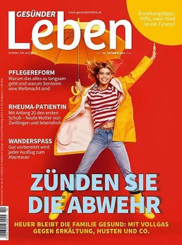 Cover: Gesünder Leben Magazin No 10 Oktober 2021