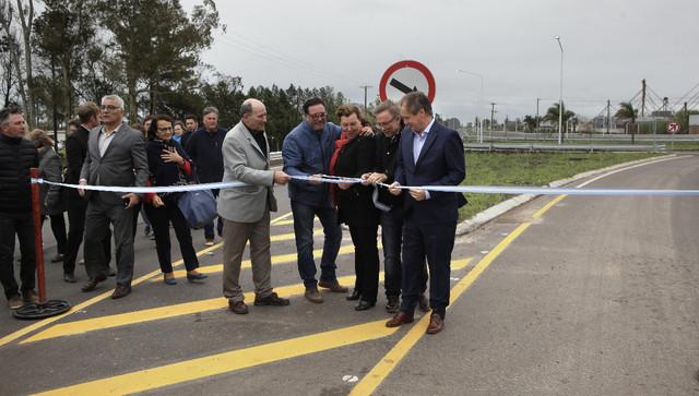 Quedó inaugurado el Acceso Norte de Urdinarrain
