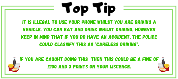 top tip about careless driving