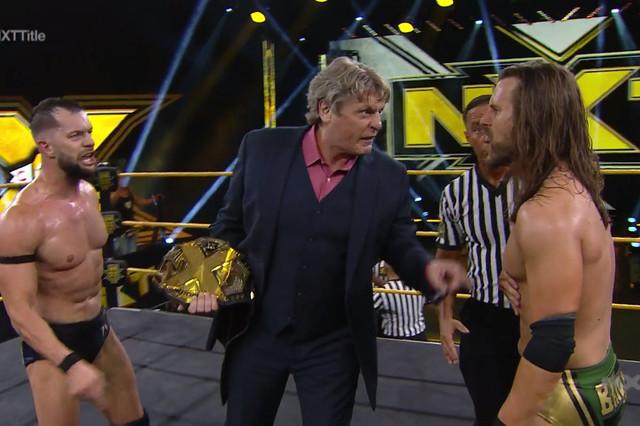 Adam Cole contra Finn Balor por el Título de NXT