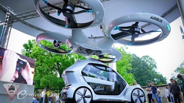 Taksi Terbang Bakal Menghiasi Langit Paris pada Olimpiade 2024?