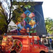 Jackson 5 and Solo Michael Jackson Mural