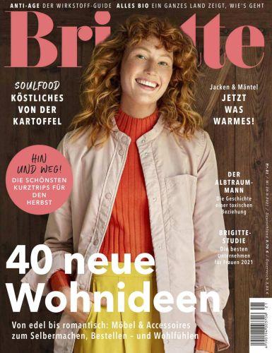 Cover: Brigitte Frauenmagazin No 21 vom 29  September 2021
