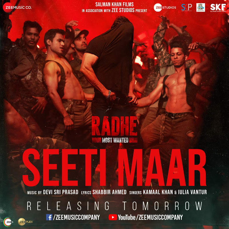 Seeti Maar Full Video Song (Radhe) 2021 Ft. Salman Khan & Disha Patani HD