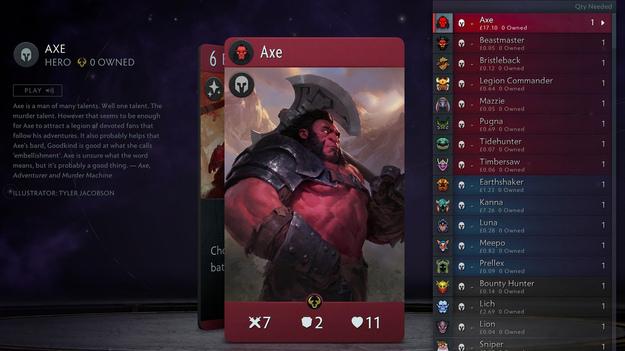 В Artifact от Valve карты стали дороже самой игры