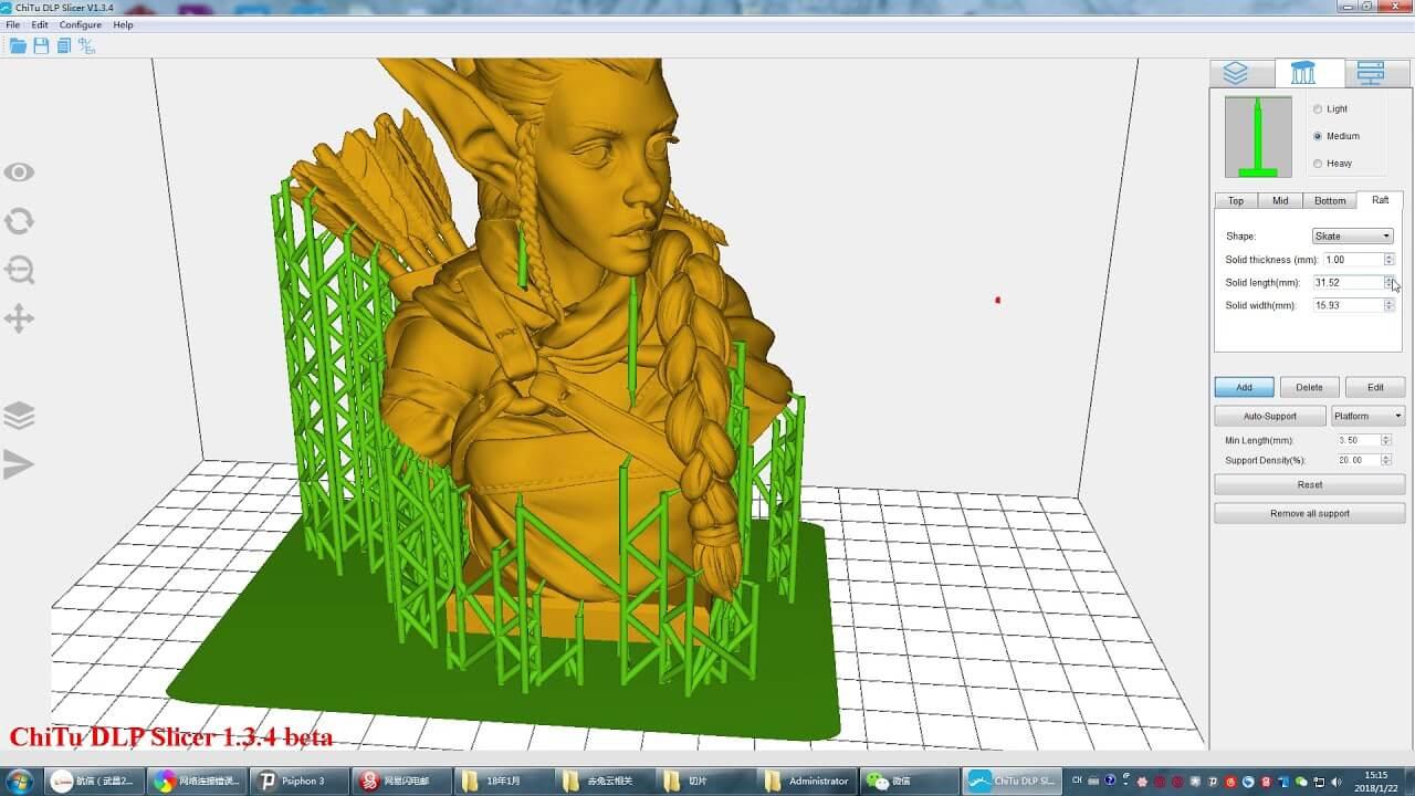 Checking 3D Print model in slicers Software