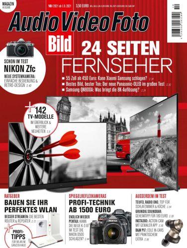 Cover: Audio Video Foto Bild Magazin No 10 Oktober 2021