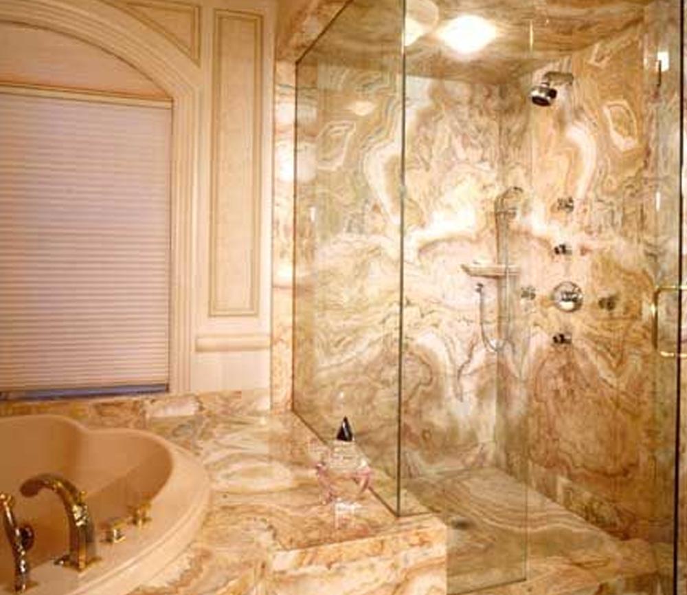 desain lantai granit Gold Granite Design