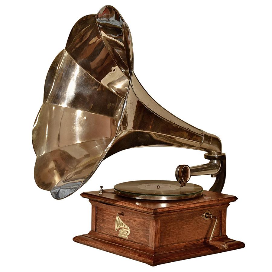 vintage antique phonograph antiguidades e velharias em geral