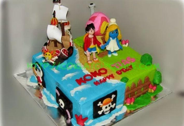 Gambar Kue Ulang tahun anak anak