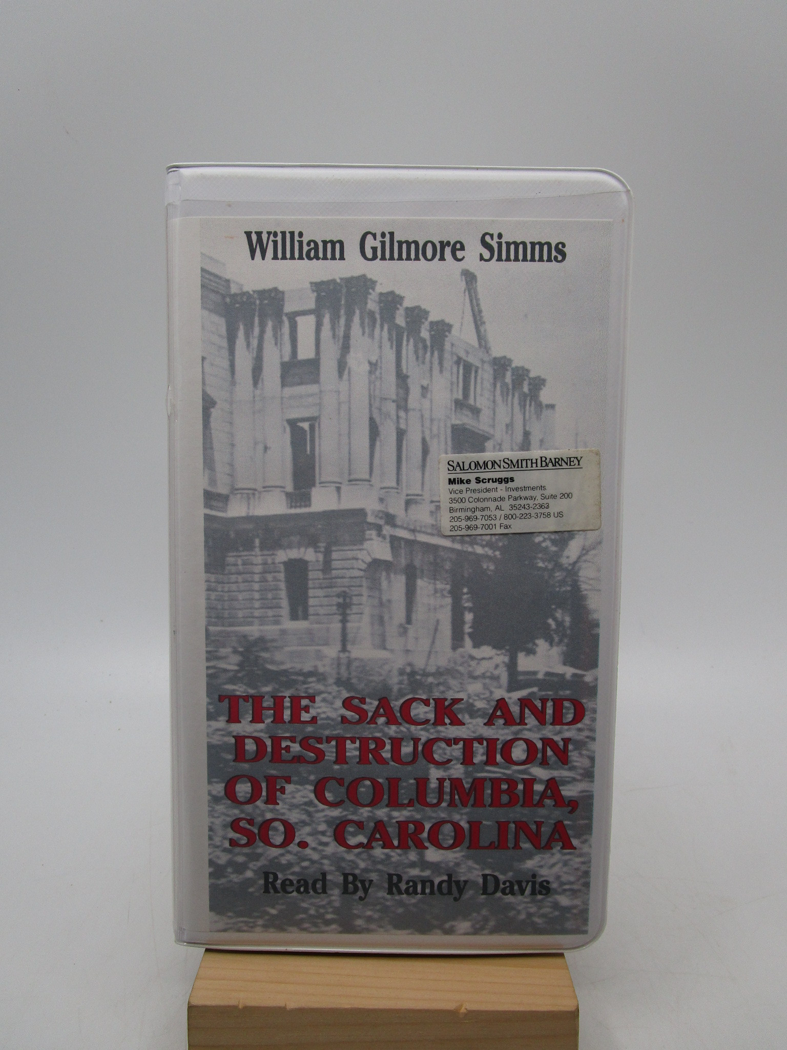 Image for The Sack and Destruction of Columbia, So. Carolina Read by Randy Davis (Cassette)