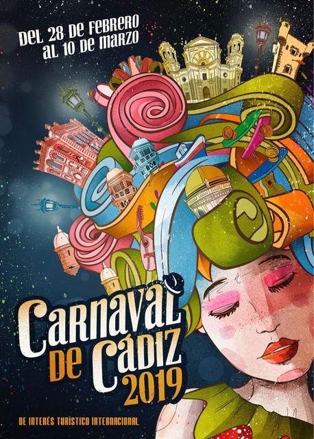 Cartel Carnaval Cádiz 2019