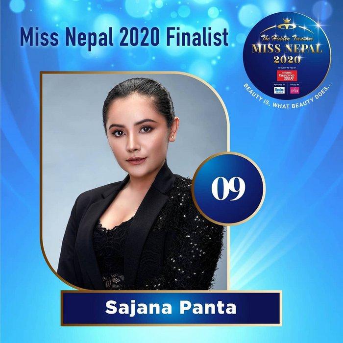 CANDIDATAS A MISS NEPAL 2020. FINAL 3 DE DICIEMBRE. 9