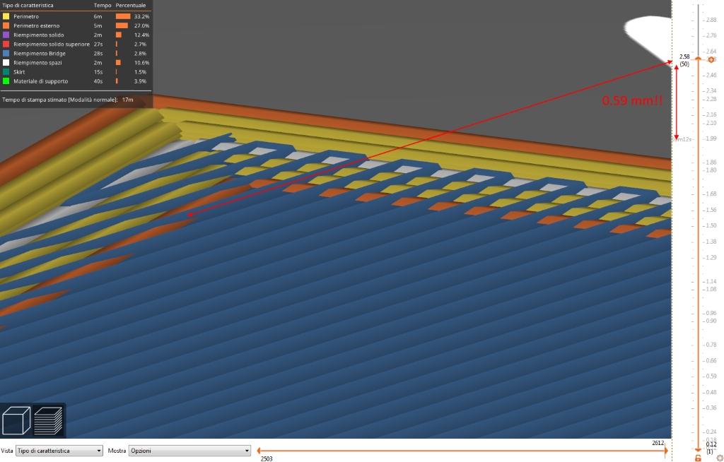 Bridge object's layer