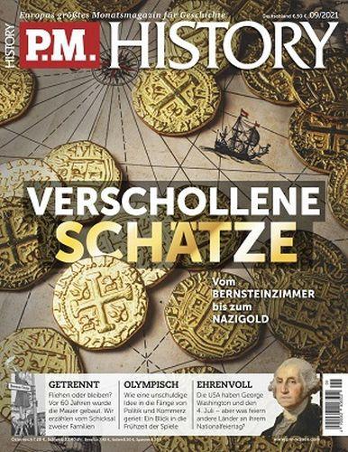 Cover: P M  History Magazin für Geschichte No 09 September 2021