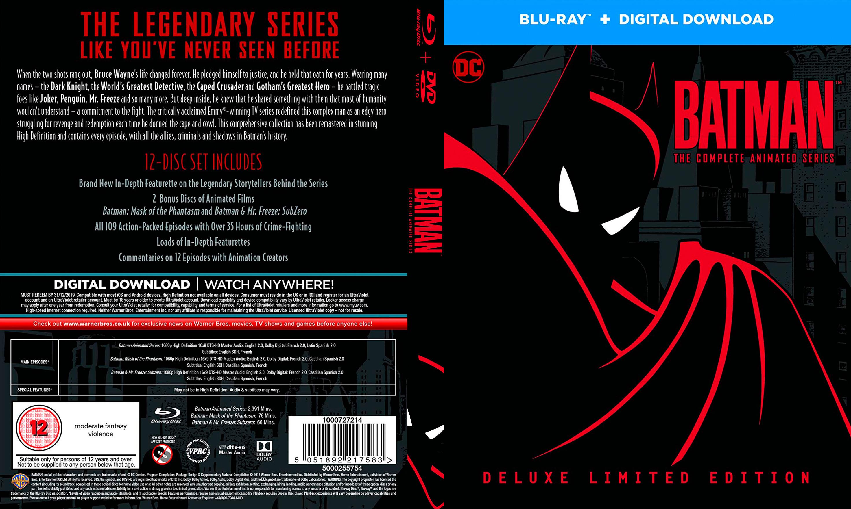Batman:The Animated Series (1992) Season 01 x265  1080p
