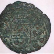16 maravedís de Felipe IV, falsos de época. Moneda-2