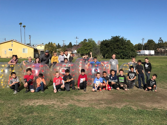 Bubble Soccer Party in Orange County