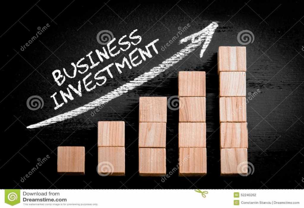 Invest Business Industry Hook Box