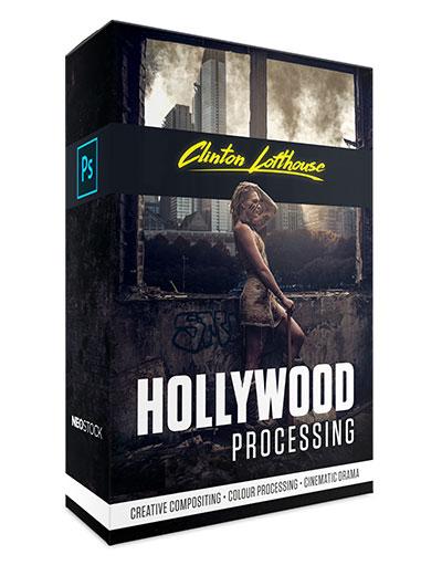box art clinton lofthouse hollywood processing photoshop video training