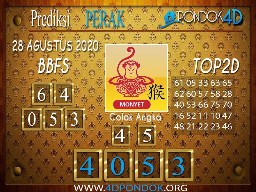 Prediksi Togel PERAK PONDOK4D 28 AGUSTUS 2020